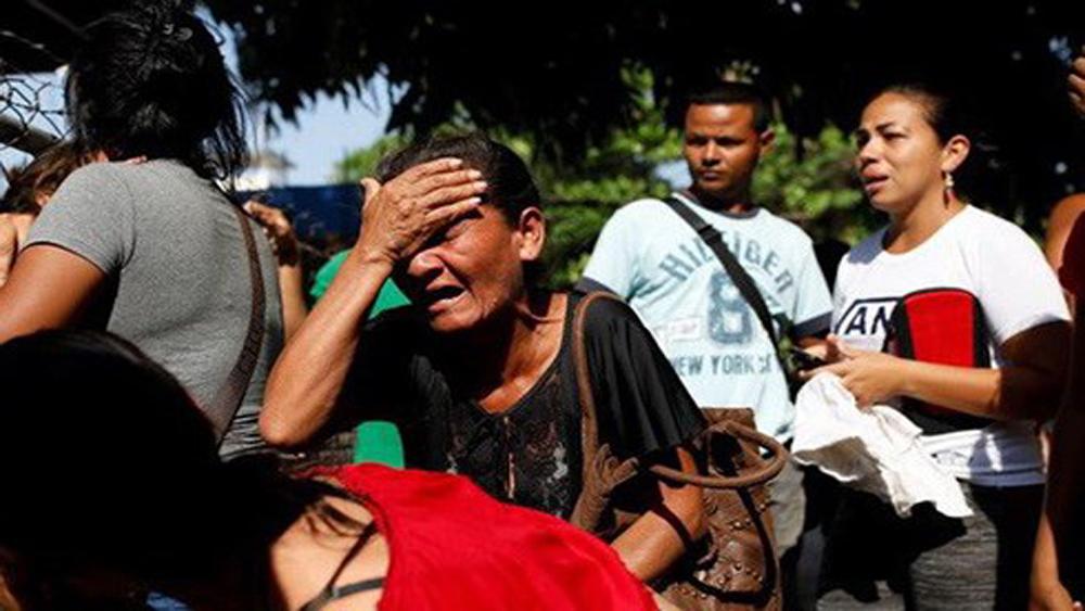 Ít nhất 68 người thiệt mạng do bạo loạn tại đồn cảnh sát ở Venezuela